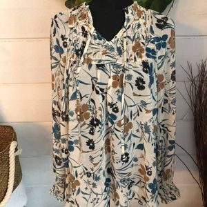Style & Co top in a great print!